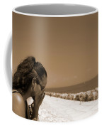 The Lady And The Sea Coffee Mug