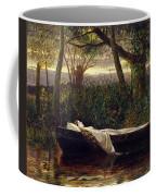 The Lady Of Shalott Coffee Mug by Walter Crane