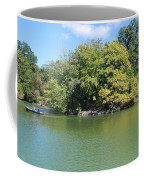 The Lake In Central Park Coffee Mug