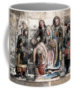 The Lamentation Of Christ Coffee Mug