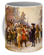 The Landing Of William Penn, 1682 Coffee Mug