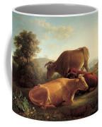 The Last Gleam Of The Setting Sun Coffee Mug