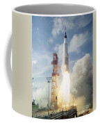 The Launch Of The Mercury-atlas 4 Coffee Mug