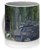 The Leopard 1a5 Of The Belgian Army Coffee Mug by Luc De Jaeger