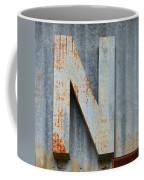 The Letter N Coffee Mug