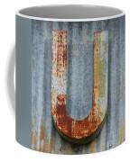 The Letter U Coffee Mug