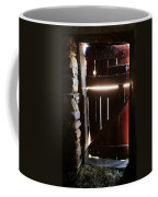 The Light Enters Barn Coffee Mug