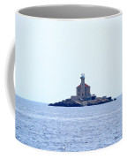 The Lighthouse Close To Primosten Coffee Mug