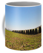 The Line Up Coffee Mug by Bill Cannon