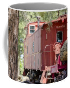 The Little Red Caboose Coffee Mug