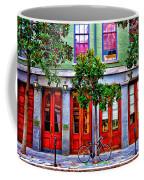 The Locked Bicycle - New Orleans Coffee Mug