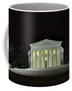 The Lonely Tourist At Jefferson Memorial Coffee Mug