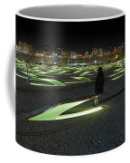The Lonely Tourist At Pentagon Memorial Coffee Mug