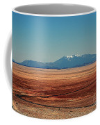 The Long Road To The Meteor Crater In Az Coffee Mug