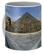 The Louvre Pyramid Paris Coffee Mug
