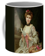 The Love Letter Coffee Mug by Francois Martin-Kayel