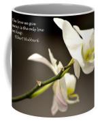 The Love We Keep Coffee Mug