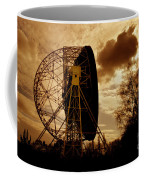 The Lovell Telescope At Jodrell Bank Coffee Mug