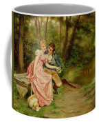 The Lovers Coffee Mug by Joseph Frederick Charles Soulacroix