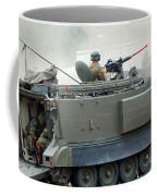The M113 Tracked Infantry Vehicle Coffee Mug by Luc De Jaeger