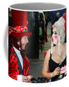 The Mad Hatter And The Red Queen Coffee Mug