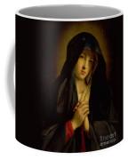 The Madonna In Sorrow Coffee Mug