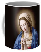 The Madonna Praying Coffee Mug