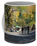 The Mall In Central Park Coffee Mug