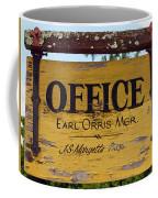 The Manager Coffee Mug