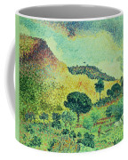 The Maures Mountains Coffee Mug by Henri-Edmond Cross