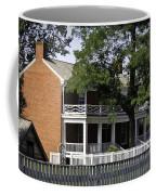 The Mclean House In Appomattox Virgina Coffee Mug by Teresa Mucha
