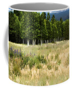 The Meadow Digital Art Coffee Mug