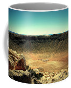 The Meteor Crater In Az Coffee Mug