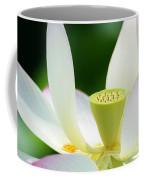 The Middle Of A Lotus Coffee Mug