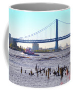 The Mighty Delaware River Coffee Mug