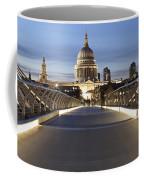 The Millennium Bridge Looking North Coffee Mug