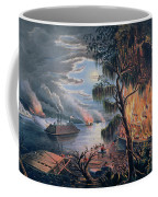 The Mississippi In Time Of War Coffee Mug