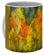 The Mist In The  Autumn Coffee Mug