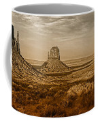 The Mittens At Monument Valley Coffee Mug