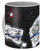 The Moon And Two Rocks Coffee Mug