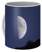 The Moon Over A Mountain  Coffee Mug