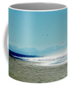 The Mountains And The Pier Coffee Mug
