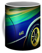 The Muscle Car Oldsmobile 442 Coffee Mug