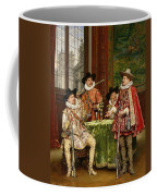 The Musketeer's Tale Coffee Mug by Adolphe Alexandre Lesrel