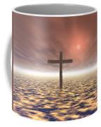 The Mystery Of The Cross Coffee Mug