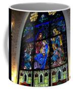 The Nativity Stained Glass Coffee Mug
