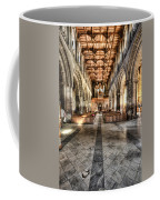 The Nave At St Davids Cathedral 3 Coffee Mug