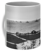 The Navy Fleet In New York Bay Coffee Mug