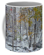 The October Blizzard Begins Coffee Mug