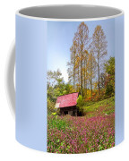 The Old Barn At Grandpas Farm Coffee Mug